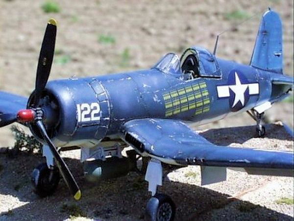 Chance Vought F4U-1A Corsair - Tamiya 1/48