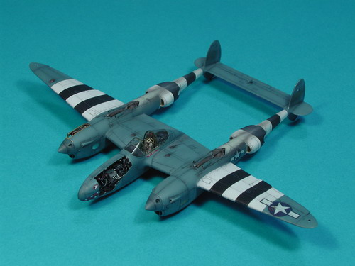 Lockheed F5E-2 Photo Lightning - Italeri 1/72